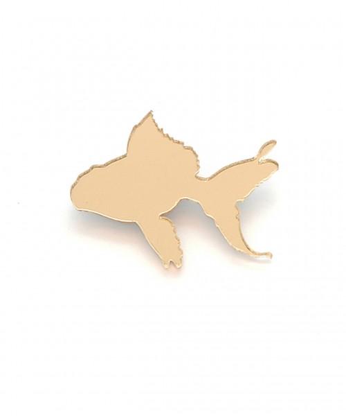 Goldfisch Brosche von Titi Madam