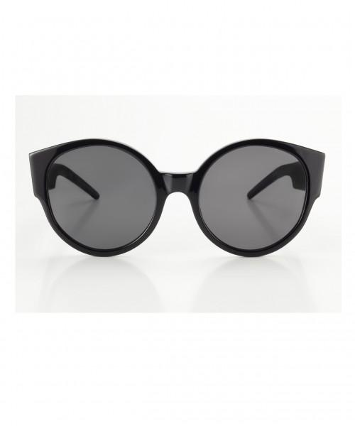 Schwarze Sonnenbrille von Lunettes x Odeeh