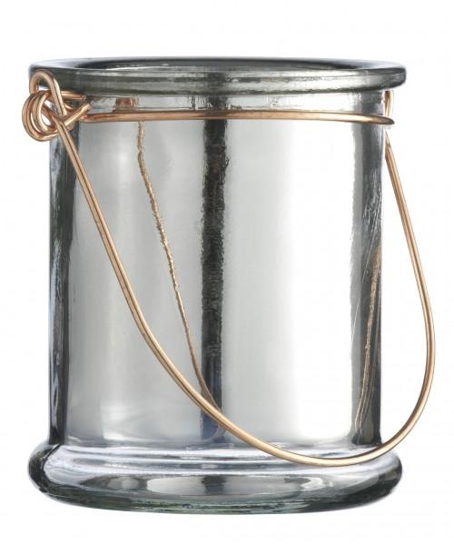 Teelichthalter-silber-Madam-Stoltz