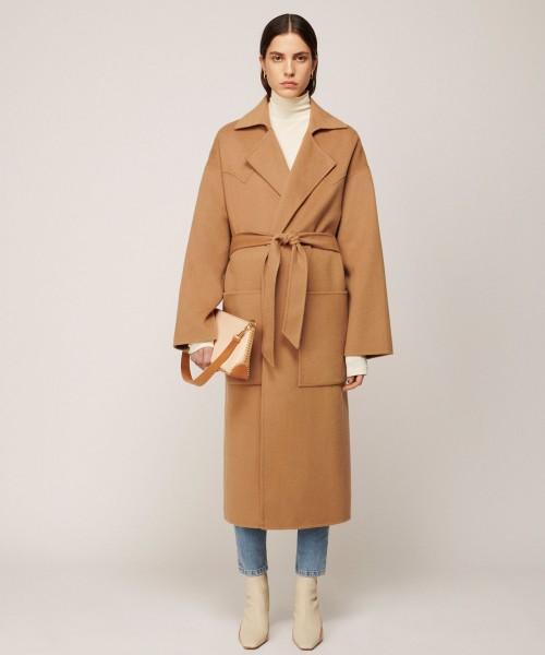 Nanushka-Alamo-brown-coat-robe-StyleAlbum