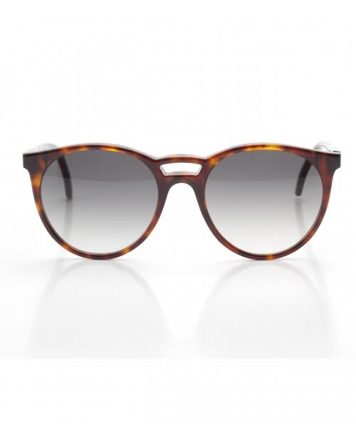 LUNETTES Klassische Sonnenbrille mit gerundeten Gläsern