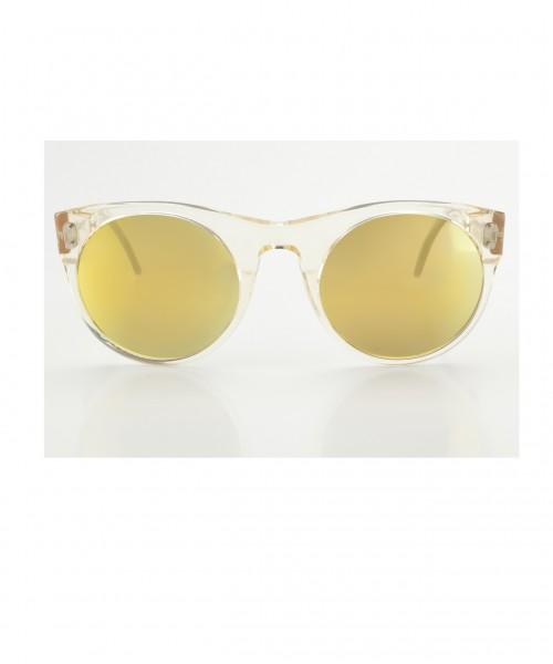 Lunettes Sonnenbrille mit verspiegelten Gläsern